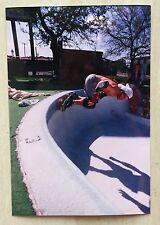 Zorlac Alva Craig Johnson Skateboard photo Metro Bowl Pool DFW TX INNOVATION