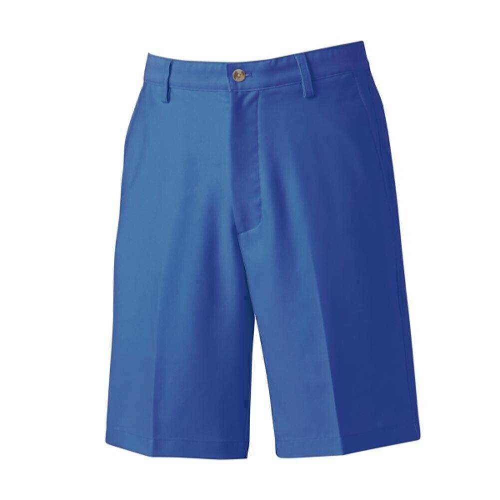 Footjoy Hombres'S lavado Sarga Pantalones Cortos Talla 34 (Royal)