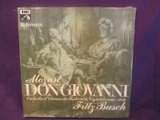 SEALED Coffret 3 LPs EMI box Fritz BUSCH / Mozart Don Giovanni