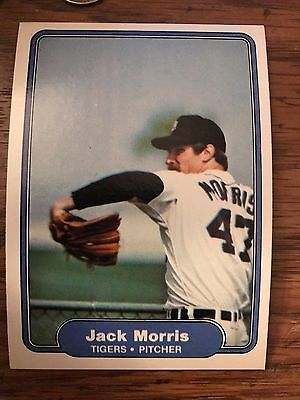 1982 FLEER BASEBALL JACK MORRIS #274 TIGERS NMMT//MINT *58064