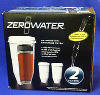 2 Pack Zerowater Replacement Filters Zr 006