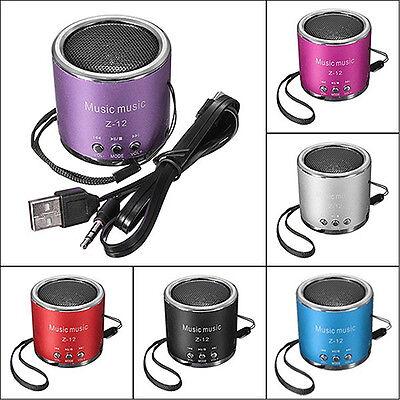 Mini Speaker Amplifier FM Radio USB Micro SD TF Card MP3 Player Convenient