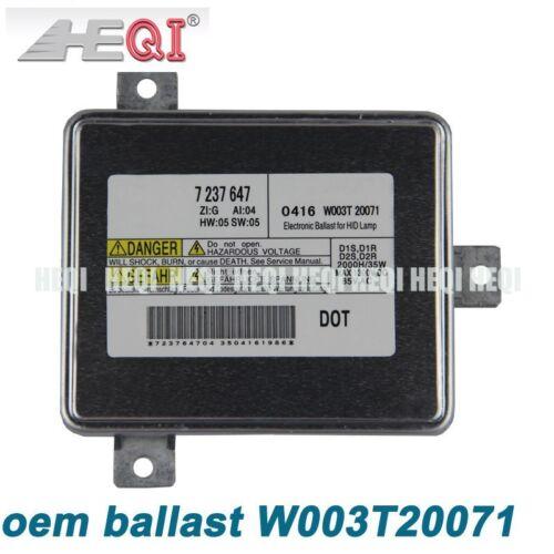 BMWXtreme MITSUBISHI W003T20071 Factory OE HID Xenon Replacement Ballast D2S D1R