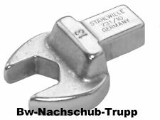 Stahlwille 731//10 Maul-Einsteckwerkzeuge 9x12 SW 7-19 mm zur Auswahl
