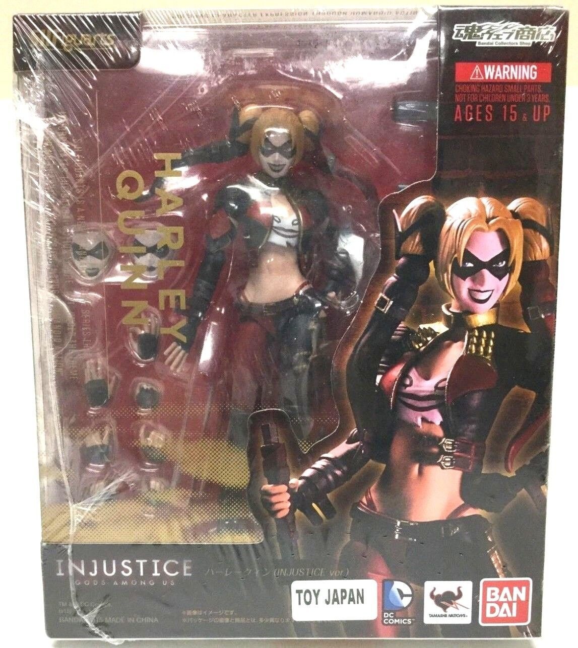 S.H. Figuarts Harley Quinn DC Comics Injustice Version Action Figure Toy