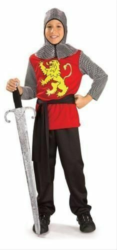 Lord knight medieval fancy dress costume 3-8 years