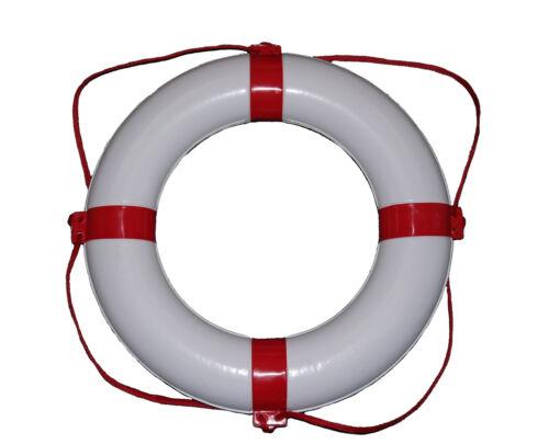 Rettungsring rot weiß 550 x 300 Rettungsreifen mit Rundumleine Wurfring