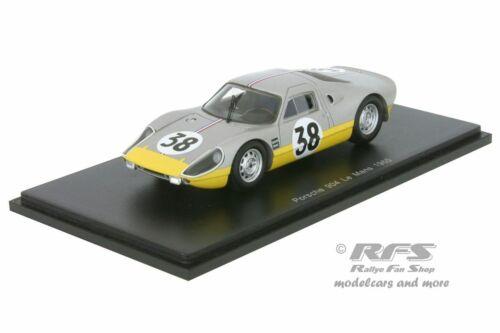 24 H LE MANS 1965-Dewez//Kerguen PORSCHE 904//4 GTS 1:43 Spark 4683