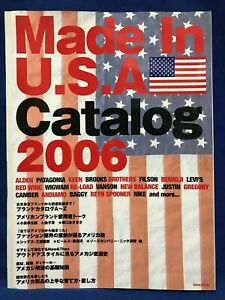 USED-Made-in-U-S-A-USA-Catalog-2006-Japanese-Magazine-Book-Nike-Patagonia