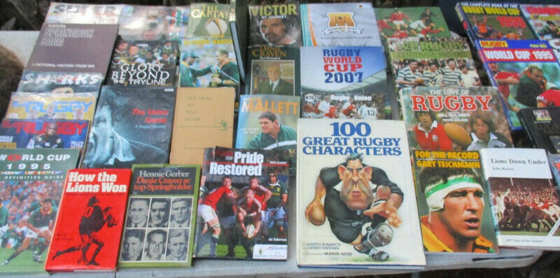 Rugby Books for sale