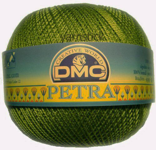 DMC PETRA Crochet Cotton Knitting Yarn Choose from Perle 8 or 5