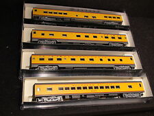 N-SCALE KATO #106-1201 (SET C) UNION PACIFIC CONNECTION PASSENGER SET 4 CARS NEW