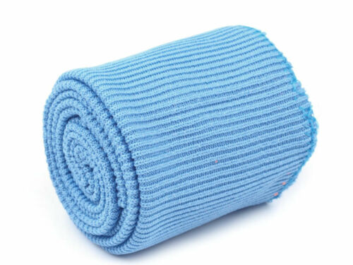 3 pcs SET of Elastic Rib Knit Fabric 2 x CUFF 1 x WAISTBAND Elastic ends-up