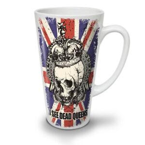 Dead Queens NEW White Tea Coffee Latte Mug 12 17 oz   Wellcoda