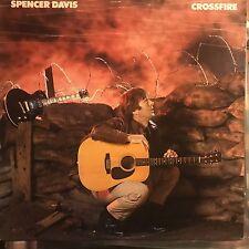 SPENCER DAVIS • Crossfire • Venire Lp • 1984 BIG TIME