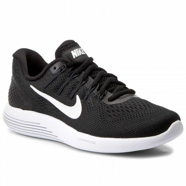 NIKE LUNARGLIDE 8 RUNNING SHOES BLACK MENS SIZE 11 NEW AA8676-001