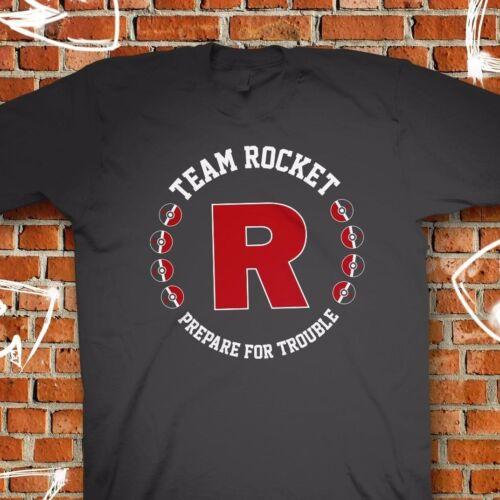 Team Rocket Logo Pokemon Go Plus Black T-Shirt