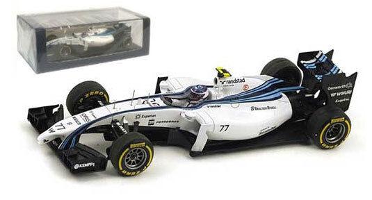 Spark s3144 Williams fw36   77 3ª Abu Dhabi Gp 2014-valtteri bottas 1 43 Escala