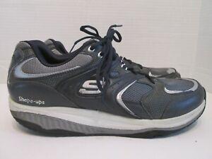 Dettagli su Skechers Shape Ups XT Talas 52004 Gray Walking Toning Fitness  Shoes Mens Sz 11.5