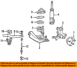 image is loading ford-oem-99-04-mustang-stabilizer-sway-bar-