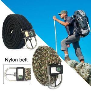 Outdoor-Survival-Belt-Nylon-Military-Tactical-safety-Belt-Umbrella-Rope-Belt