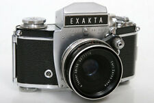 Exakta VX IIa 967447 35mm Camera With Zeiss Tessar 50mm f2.8 Lens
