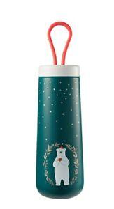 Starbucks Korea 2019 Winter Limited SS Green Polar Bear Strap Tumbler 296ml