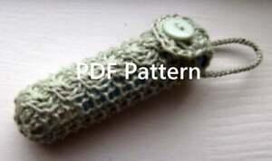 Balm Cozy PDF Knitting Pattern for Chapstick Holder Key ...