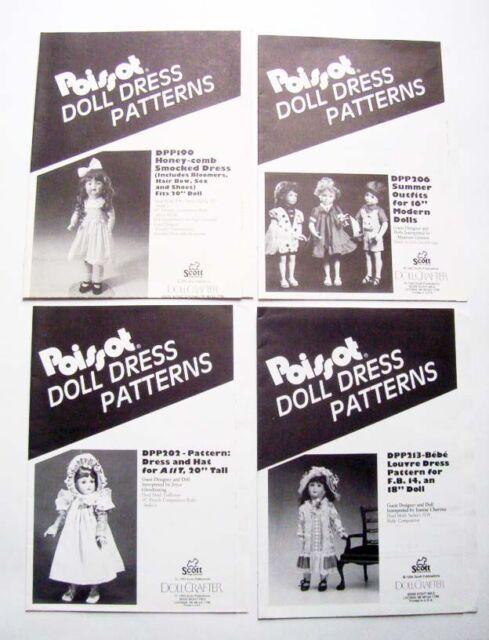 "7971 Vintage Doll Clothing Pattern Littlest Angel 11/"""