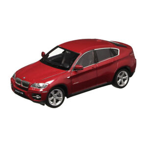 Welly-24004-BMW-X6-Dark-Red-Metallic-Scale-1-24-Model-Car-NEW