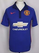 Di Maria #7 Manchester United tercera camiseta de fútbol 14-15 para HOMBRE Pequeño Nike