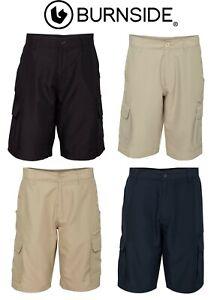 Burnside-B9803-Microfiber-Shorts