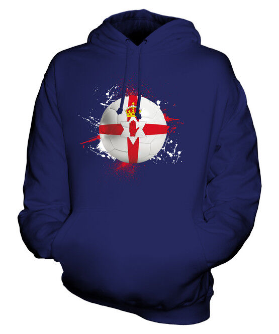 NORTHERN IRELAND FOOTBALL UNISEX HOODIE TOP GIFT WORLD CUP SPORT