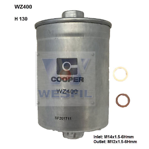 WESFIL FUEL FILTER PASSAT 1998-2005 WZ400