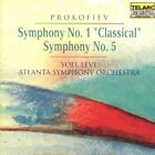 Prokofiev: Symphony No. 1/Symphony No. 5 (CD, Sep-1991, Telarc Distribution)