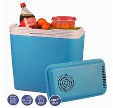 22L Electric Coolbox Cooler Cold Portable Cool Box Car Van Boat 12V DC Travel
