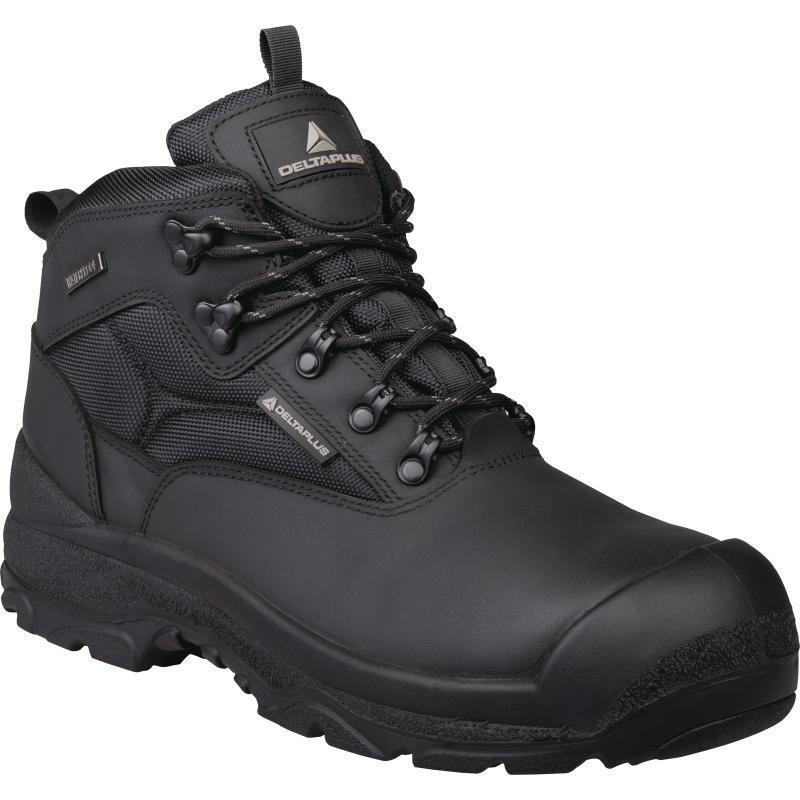 DELTA Plus Stivali lavoro sicurezza SAMY Impermeabile Stivali Plus Neri (Taglia 7-12) Scarpe da uomo bc9e65