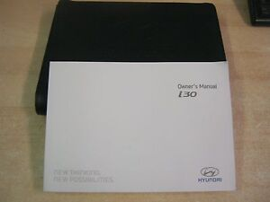 hyundai i30 owners manual handbook leather wallet audio 2013 2017 ebay rh ebay co uk owners manual hyundai i30 2014 user manual hyundai i30