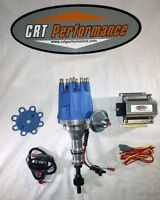 Ford 260-289-302 Pro-series Small Cap Blue Hei Distributor + 50k Volt Coil