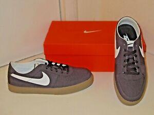 timeless design 6ecca b43ed Image is loading Nike-Mavrk-LR-6-0-Charcoal-Canvas-Skateboard-