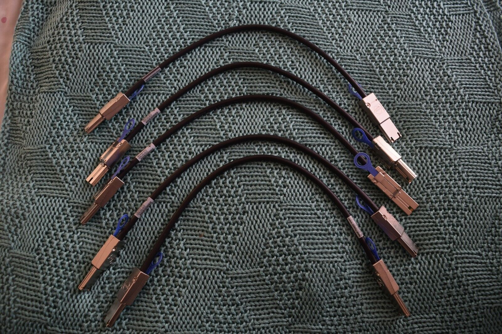 20 x HP 0.5M External Mini SAS Cables 407344-001 408765-001 - All NEW - Set E
