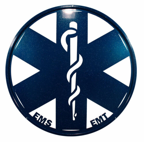 SWEN Products EMS EMT PARAMEDICS EMERGENCY Steel Scenic Art Wall Design