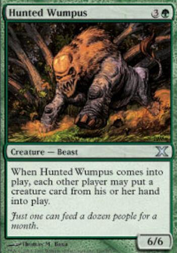 MTG Foil X1 NM *CCGHouse* Magic Hunted Wumpus 10th Edition