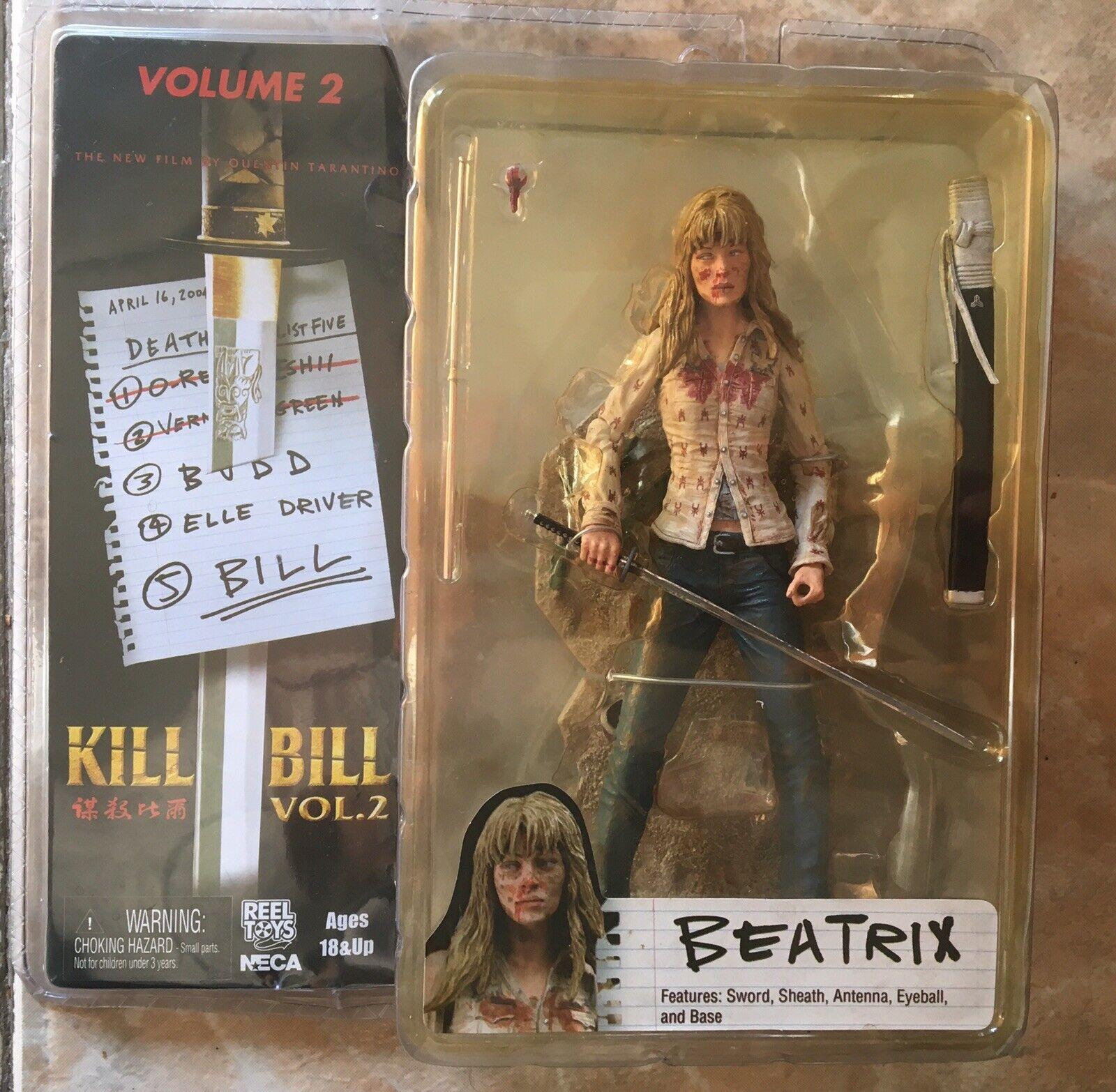 Figura Acción - Kill Bill Vol.2 - Beatrix Kiddo - NECA
