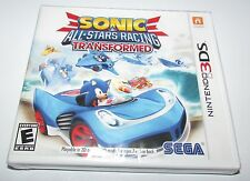 Sonic & All-Stars Racing Transformed for Nintendo 3DS Brand New! Factory Sealed!