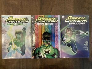 NEW-Green-Lantern-Omnibus-Vol-1-2-3-Graphic-Novel-Lot-HC-Hardcover-TPB-52-Comics