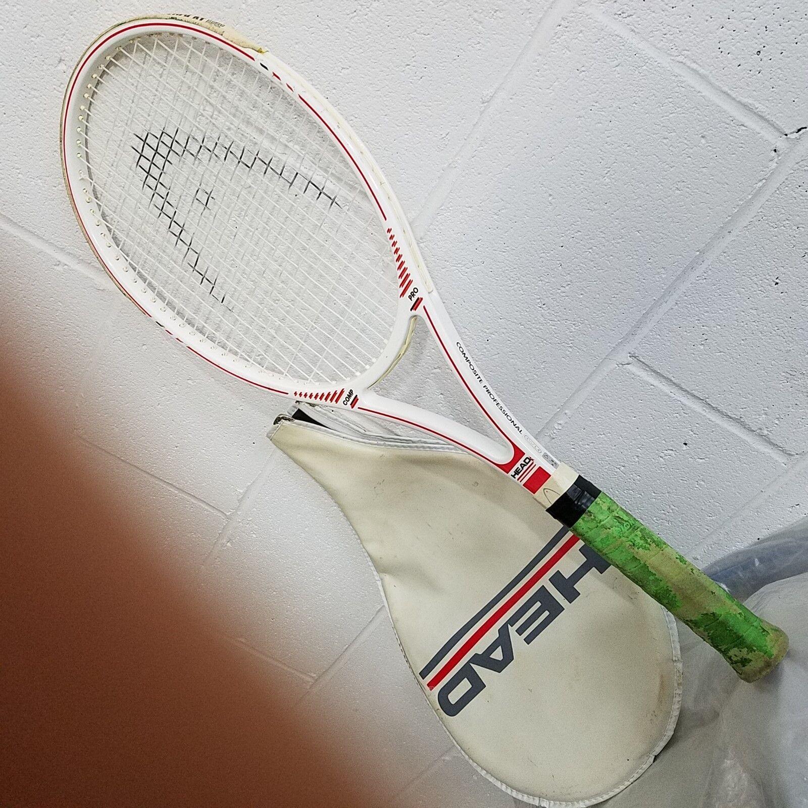 Cabeza  Comp Pro 89.5 pulgadas cuadradas Raqueta De Tenis  4 Hecho En Austria Grip 4 1 2 Muy Bueno   de moda