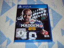 Madden NFL 25 (Sony PlayStation 4) NEU OVP