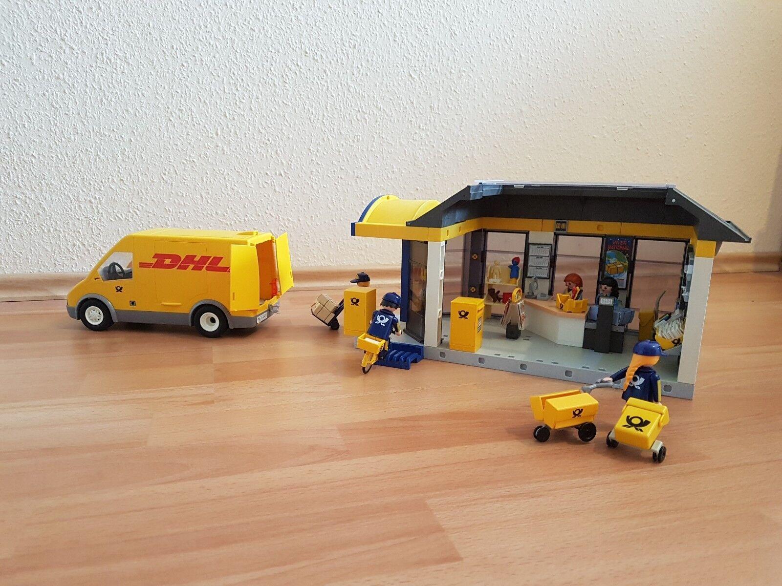 Playmobil 4400 DHL Postamt 4401 DHL 4400 Paketauto 1c8196