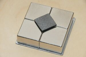 1 Pcs Pyrolytic Graphite For Magnetic Levitation 18x18x1mm With